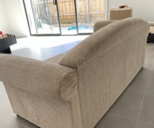 Couch with double bed