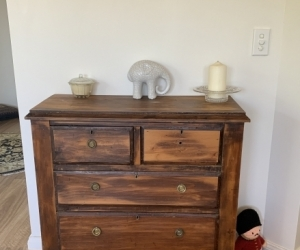 Antique drawer
