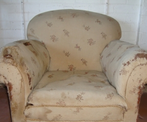 Grand old arm chair