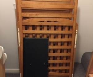 Wooden Cot - Good Condition