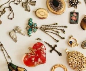 old costume or tack jewelery