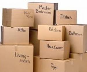 BOXES NEEDED - MOVING HOUSE