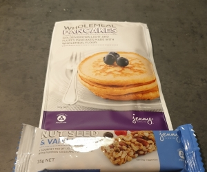Jenny Craig food - some frozen too.