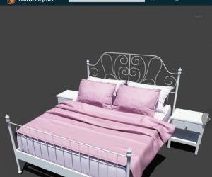 Queen Bed - No mattress