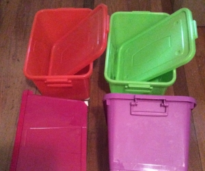 4 x Storage Containers