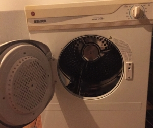 Used Hoover clothes dryer