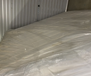 King Size Full Latex Mattress with Woollen Underlay - pickup pending
