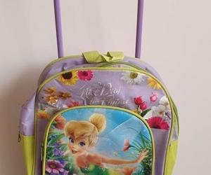 Preloved toddler sized 31cm backpack trolley case