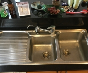 Franke sink, tap, water filter MUST GO this weekend.