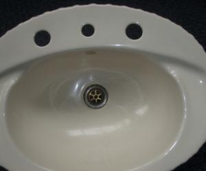 Bathroom basin by Fowlerware