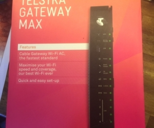 Telstra Gateway Max Cable Modem Router C6300 in box