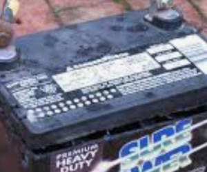 Wanted old car batteries