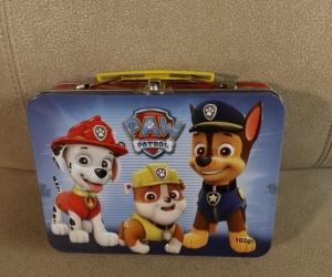 Paw Patrol tin case - small