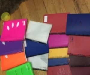 Display folders and binders