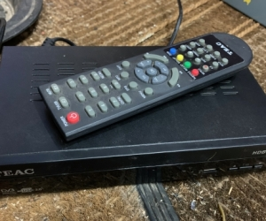 Set top box with remote