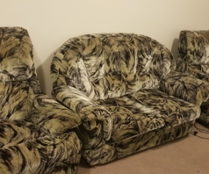 Lounge suite - couch and recliners