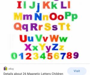 Aplphabet letters
