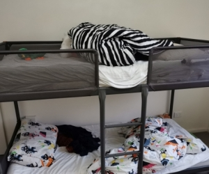 Almost new bunk Bed For kids