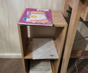 Two nice small shelves