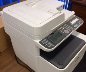 this is a OKI MC363  Printer,Scaner, Fax machine