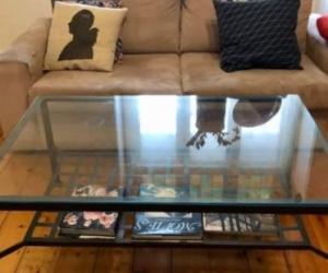 Coffee table - glass