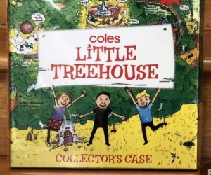 Coles Little Treehouse collectors folder