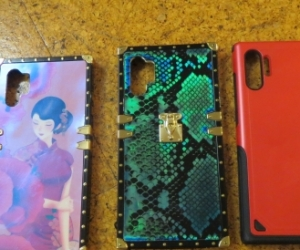 Free 3 x Samsung Note 10 + 5g cases can send