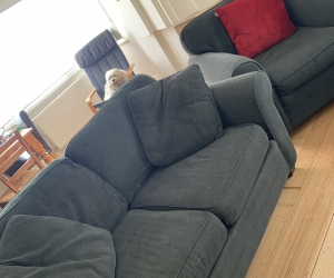 3,2,1 seater couch/sofa plus ottoman