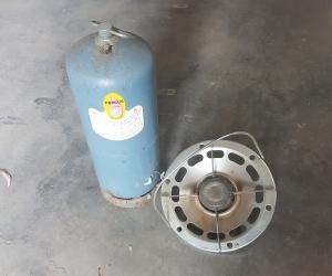 Gas Cylinder and burner