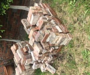 Clinker bricks mixed