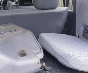 97 Prado rear seats