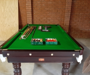 8 x 4 Slate Snooker Table