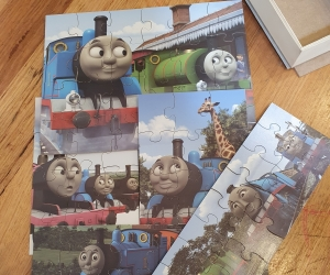 Thomas & Friends (Thomas the Tank Engine) Wood Puzzle 5 Pack 3 plus
