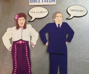Little Britain Dress-up Fridge Magnets