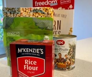 Gluten free food - unopened