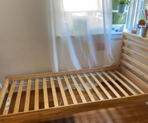 Ikea Tarva Single Bed Frame