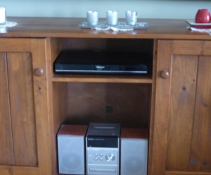 TV CABINET -  BUFFET  (Does not include display items)