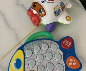 VTECH Aeroplane pull along and light up and musical fish