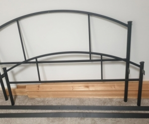 Double Bed Frame with slats