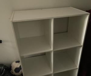 White storage cube