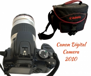 Canon Digital Camera and case