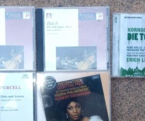 Clasical music cd's