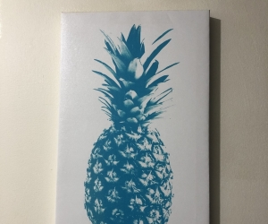 Small canvas print - pineapple