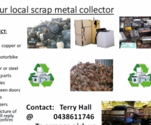 Terry your free unwanted metal items collector