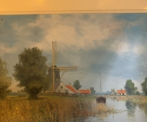 Print of Dutch country scene