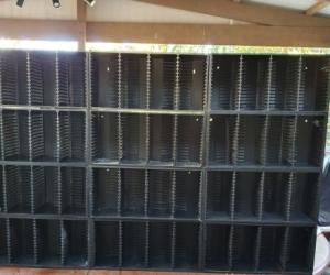CD and   DVD Storage Racks