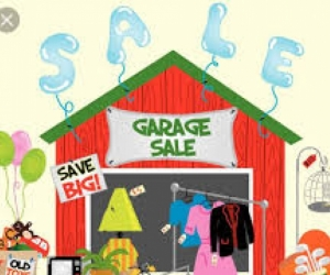garage sale - all must go - cheap and gove away goods
