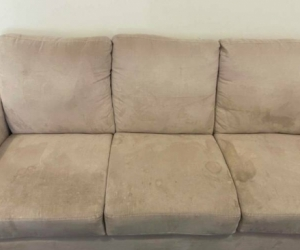 3-seater beige sofa