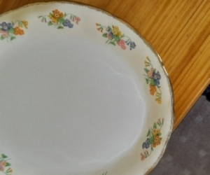 Medium size oval plate