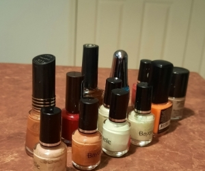 Assortment of nail polish